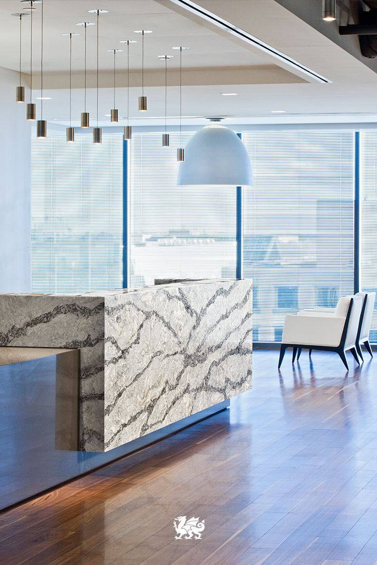 Cambria clyde kitchen and bathroom countertop color - Exclusively Ours The Veining Movement And Variations Within Our Coastal Collection Complement Any Office Cambria Quartzsuite Lifekitchen