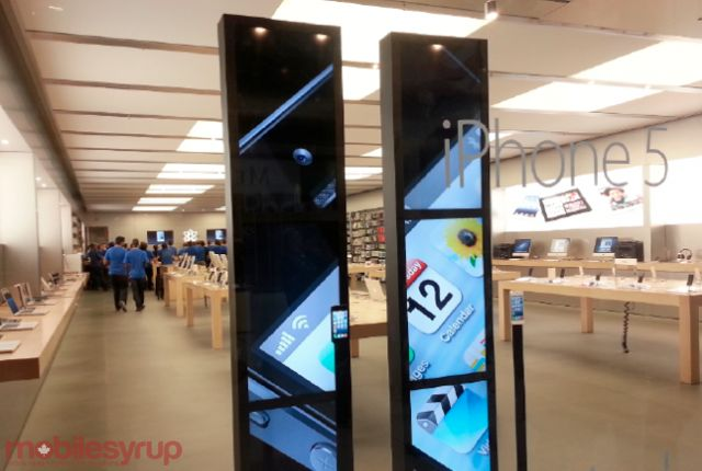 Apple rolls out US-based iPhone trade-in program, hopefully coming to Canada in the future  Telus Fort Saskatchewan Cornerstone Mall http://www.mobilityhelp.com 780-998-9551