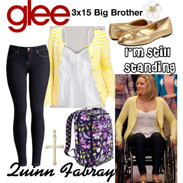 Quinn Fabray (Glee) : I'm Still Standing by aure26 on Polyvore featuring mode, Joules, Vera Bradley, Monsoon, American Eagle Outfitters, Lauren Ralph Lauren and glee