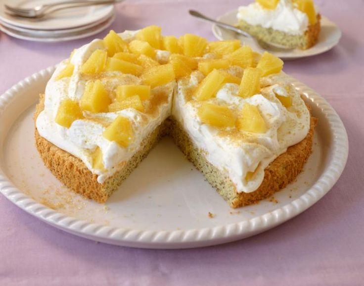 Mohn-Ananas-Torte Rezept - [ESSEN UND TRINKEN]