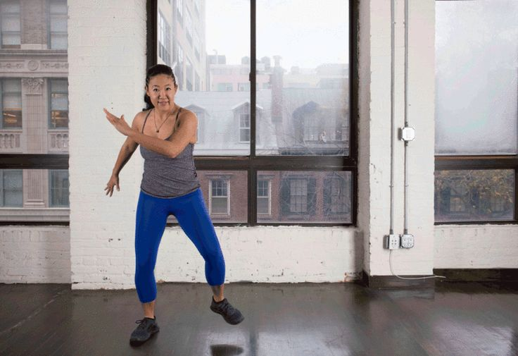 3. Lateral Lunge to Knee Drive #bodyweight #workout #tabata http://greatist.com/fitness/best-tabata-moves