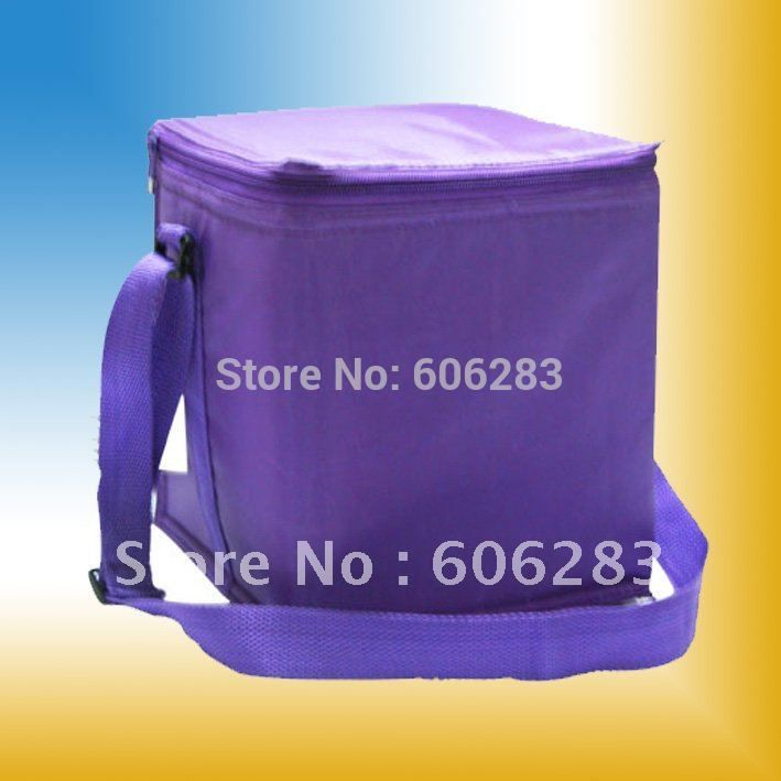 600D polyester Insulate bag with customized logo special for bottle or can cooler