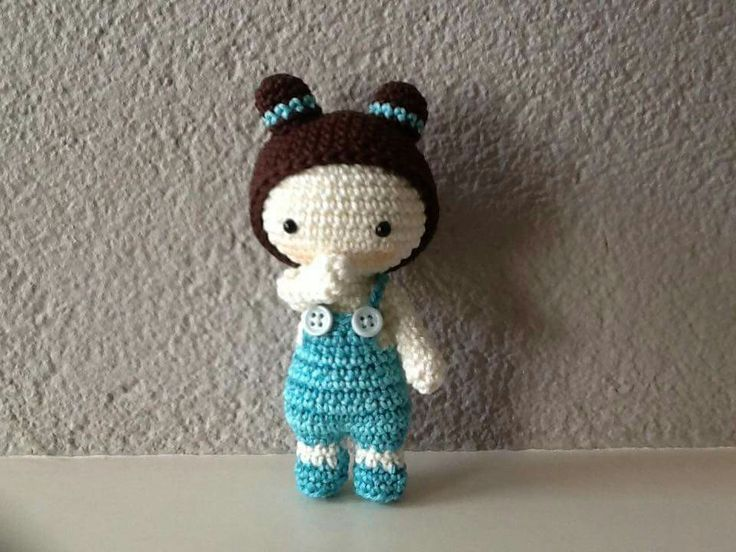 Amigurumi Lalaloopsy Free Pattern : Amigurumi little doll kalulu for