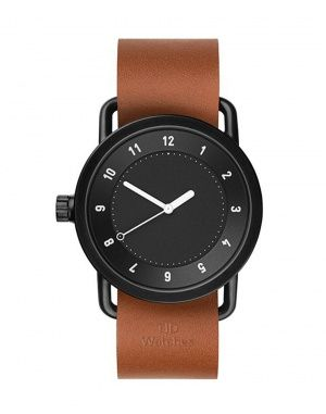 Hodinky - TID Watches - No.1. Black + Tan Leather
