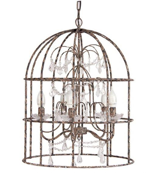 Cage lamp / lampara de jaula Home decoration and female accessories  shop online, we ship worldwide