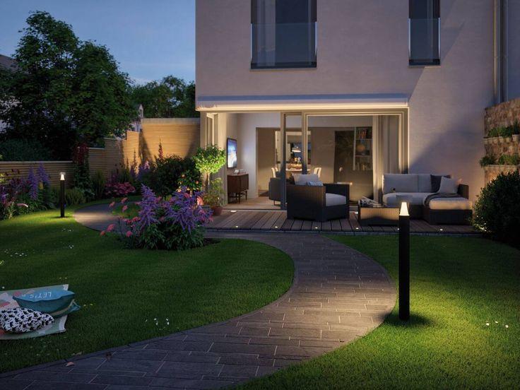 Paulmann Plug&Shine    Pollerleuchte Cone   Setzte Deinen Gehweg im Garten in Szene und spendet angenehmes Licht. Mit dem IP67 Schutz ist sie perfekt für den Außenbereich geeignet! Durch das innovative Stecksystem kannst Du ganz einfach mehrere Lampen mit einander verbinden und gleichzeitig schalten!