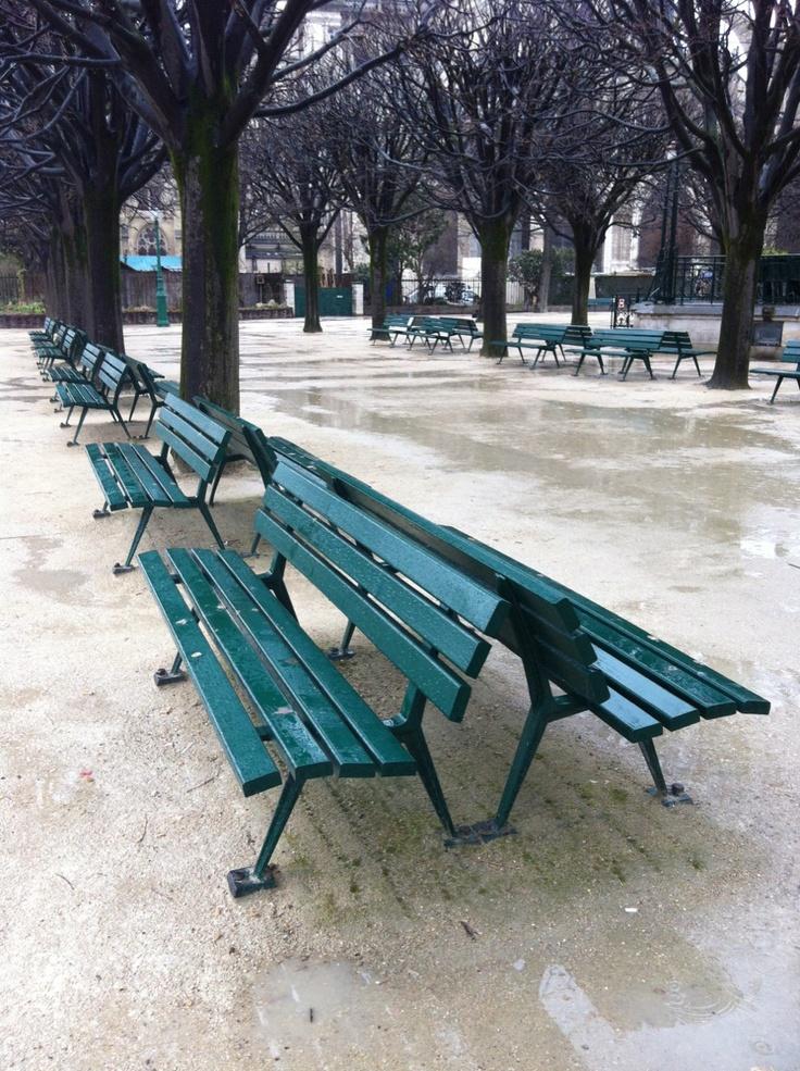Bancs - Square Jean XXIII - Paris