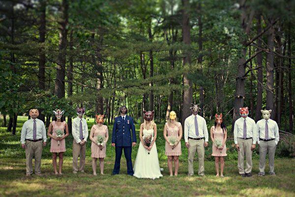 Maryland Wedding masks