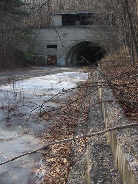 Biking the Abandoned Pennsylvania Turnpike | Atlas Obscura