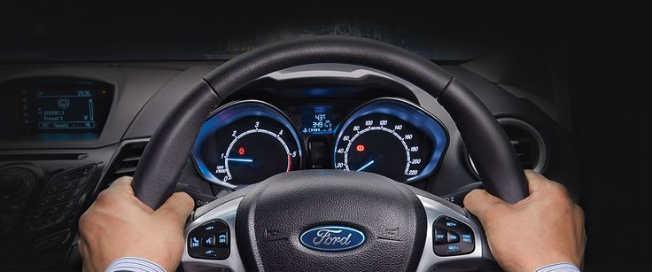 Steering With Style- #Ford #Fiesta Gain ultimate control while keeping your hands on the wheel and eyes on the road. With control buttons on your steering wheel, your fingertips hold the power of the Ford Fiesta's smart features. Also add a touch of luxury to every trip through the leather-wrapped steering wheel.Contact #SabarmatiFord