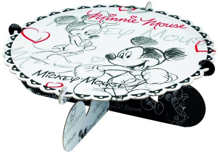 Patera do tortu z wizerunkiem Myszki Mickey