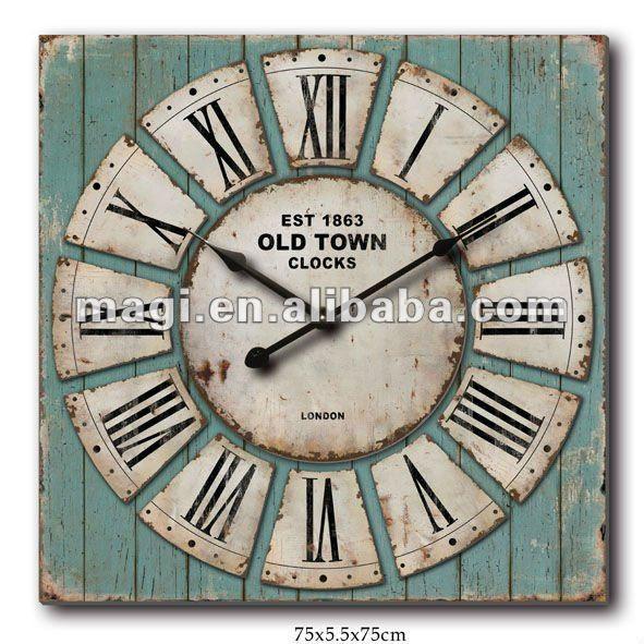 Oltre 25 fantastiche idee su grandi orologi da parete su for Orologi da parete vintage