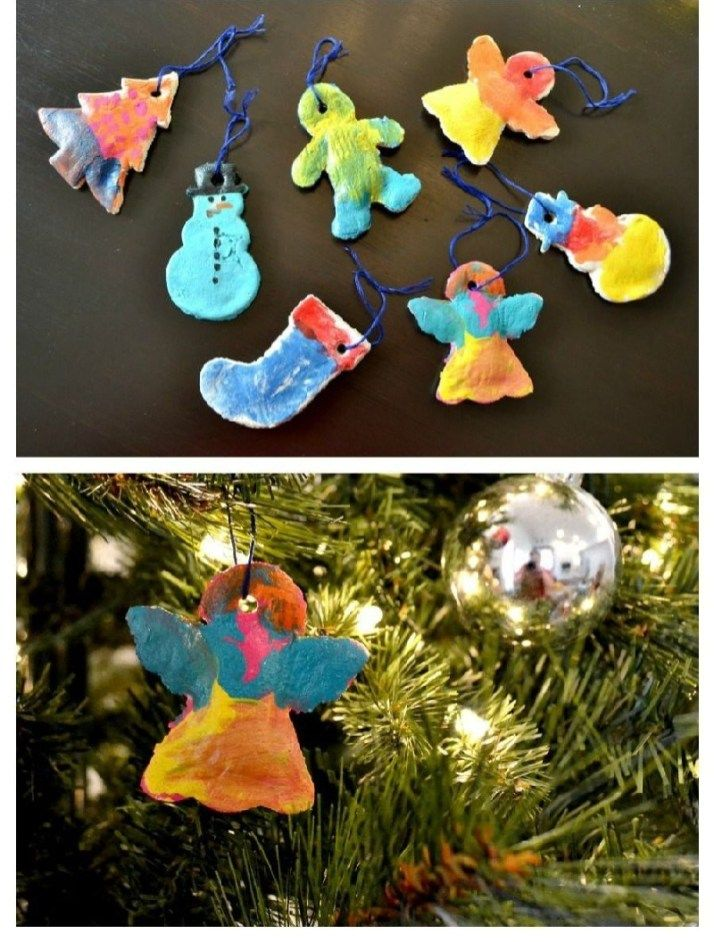 Easy and Cheap Salt Dough Ornament Ideas for Holiday Moments 21