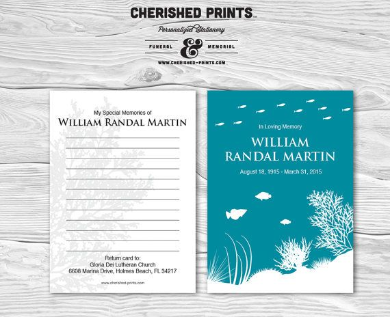 28 best Dad funeral images on Pinterest Memorial cards, Memorial - funeral invitation templates