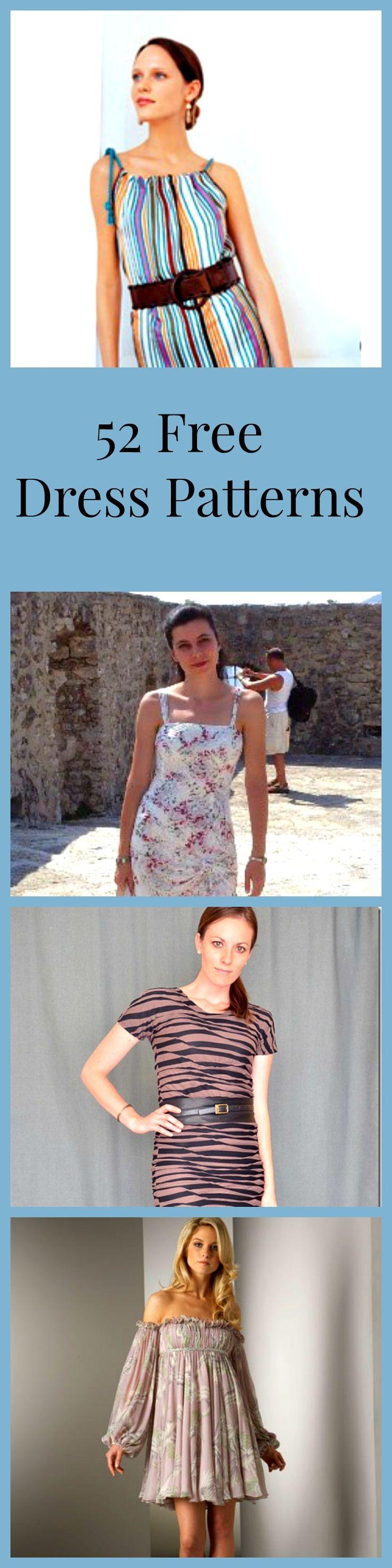 52 Free Dress Patterns