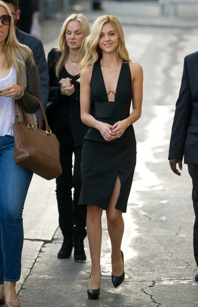 More Pics of Nicola Peltz Platform Pumps
