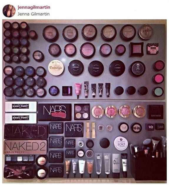 Goodbye Makeup Clutter! Create a Magnetic Makeup Board in 4 Steps - News - Modern Salon