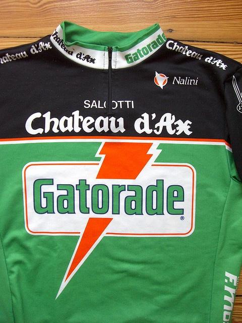 Chateau d'ax / Gatorade jersey