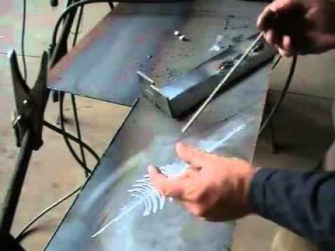 Curso de soldadura electrodo revestido 1 - YouTube