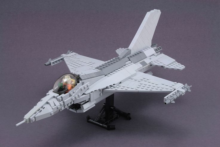 F-16  Fighting Falcon by Mike #lego #jet #brickadelics