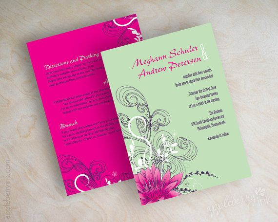 Frog Wedding Invitations: 1000+ Images About Invitations On Pinterest