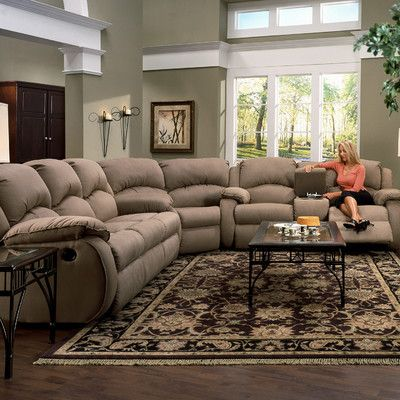 I MUST have this couch... lol... seriously...Recline Designs Gabriella Dual Reclining Sectional