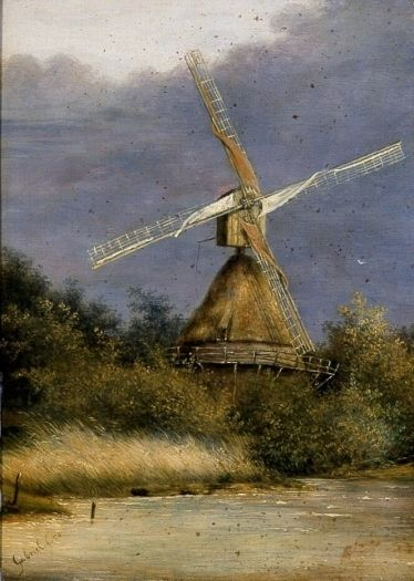 The mill - Paul Gabriël (1828 - 1903)