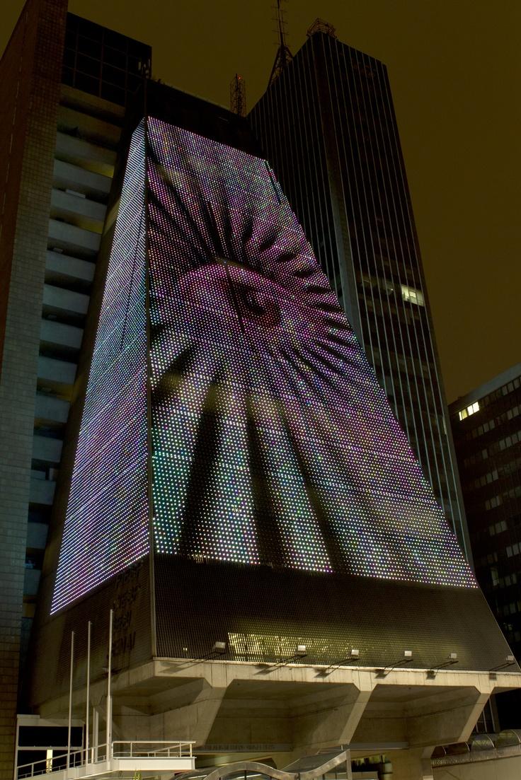 Arte digital ilumina avenida Paulista - São Paulo - Brasil - Link Estadão – Cultura Digital - Estadao.com.br