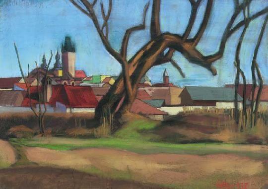 Nagybánya látképe, 1938: 5. aukció (2000. tavasz) 44.tétel