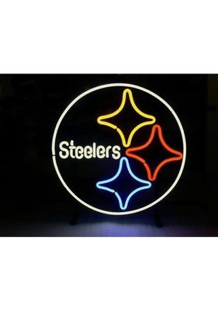 Pittsburgh Steelers Team Logo Neon Sign