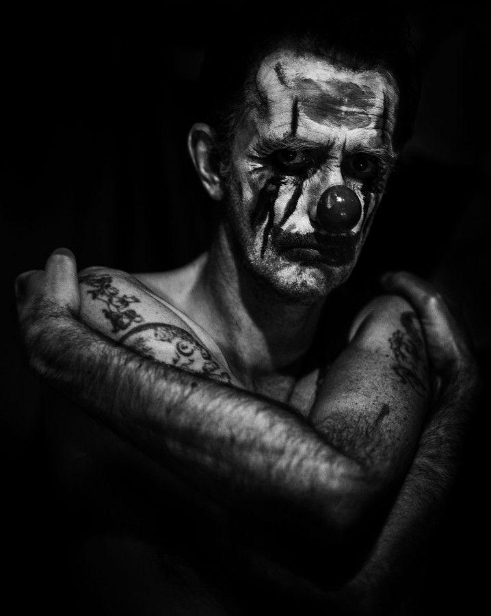 Smile Clown it's your fucking job!! Brett Walker by Betina La Plante on 500px