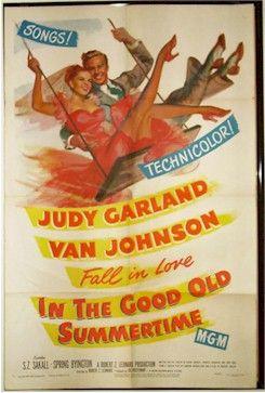 judy garland movie posters | Judy Garland Good Ol Summertime movie poster