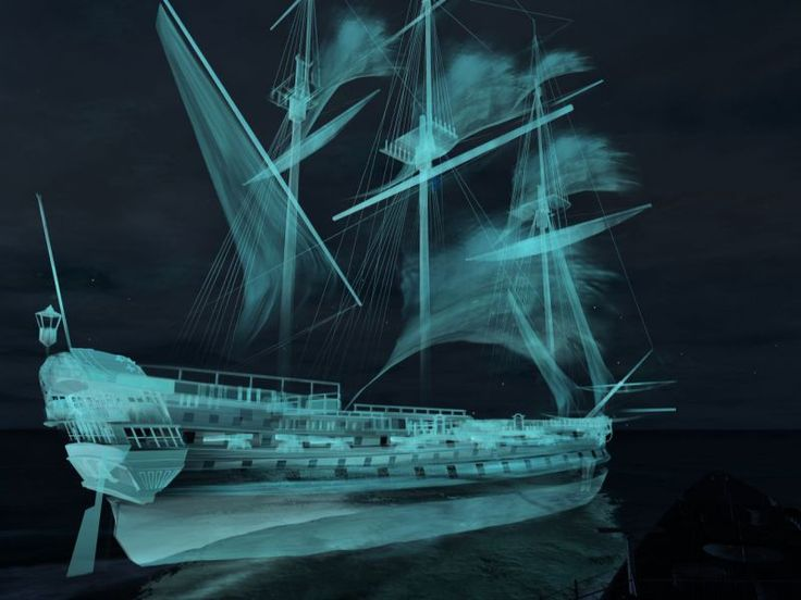 18 best bateau fantome images on pinterest ghost ship party boats and pirates - Ghost fantome ...