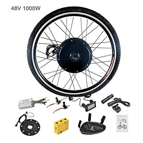 1000W Electric E Bike Conversion Kit 26 Front Wheel Motor Bicycle Hub 48V MY Elektrofahrräder