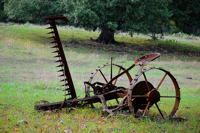 Old Farm Equipment by sivartk, via Flickr