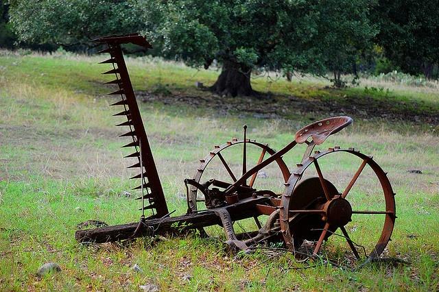 Old Farm Equipment by sivartk, via Flickr