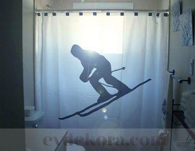 Eğlenceli Duş Perdeleri evdekora.com