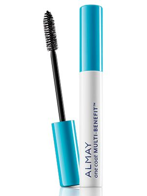 (Not my favorite!) Almay One Coat Multi-Benefit Mascara $7 : Multi-benefit formula delivers 4 benefits in 1 to maximize your lash look (massive volume, length, definition, nourish with keratin). Available in 3 Shades + Waterproof. Lash-loving, non-irritating formula with keratin.