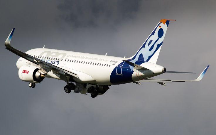 Le premier Airbus A319neo équipé de moteurs LEAP-1A de CFM International effectue depuis fin mars sa campagne d'essais en vol à Toulouse en France.