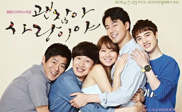 Its ok thats love - one of the best korea dramas of 2014 check out the reviews they say it all just extremely well done from start to finish up there with emergency couple and man from another star - the music score is incredible this will be one of the best kdramas you will watch this year . great love this must watch trust me you will love it cry and laugh at the same time .....nice 2014