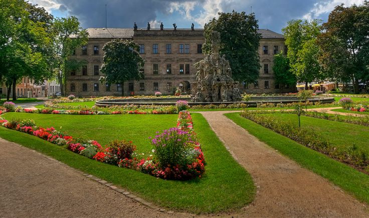 Schlossgarten Erlangen, Bavière, http://www.destination-baviere.fr