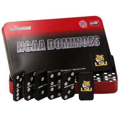 LSU Tigers Team Dominoes Set