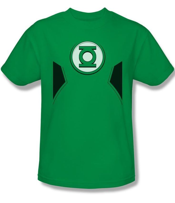 Official Green Lantern GL Ring Costume DC Comics New 52 Logo Adult T-shirt Top #Trevco #GraphicTee