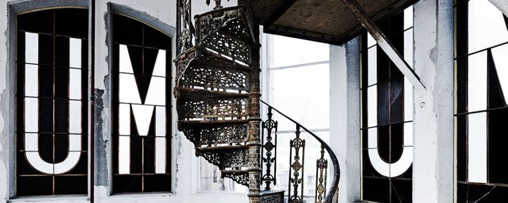 The gorgeous staircase inside Melbourne's Manchester Unity building.   themelbournemag.com