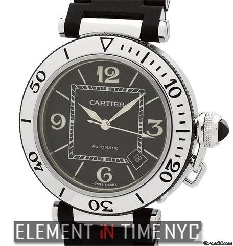 Cartier Pasha Collection Pasha Seatimer Stainless Steel 40mm Reference #: W31077U2