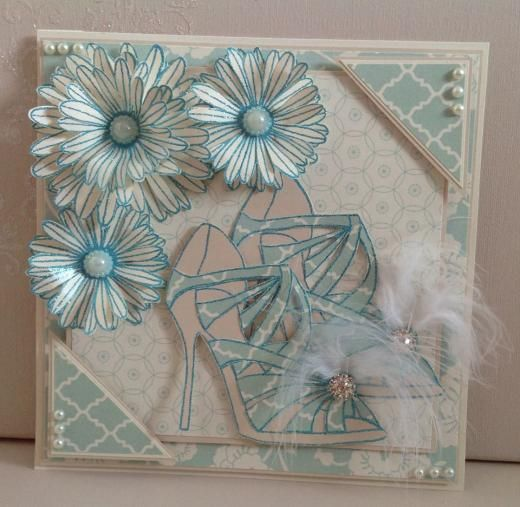 Stamps by Chloe - JUN021 Large Strappy Sandal - £5.99 - Detail.Jsp?Pid=3002494&Id=3002587&Tlid=557423 - Chloes Creative Cards