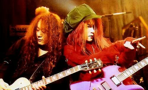 Pata and hide. X Japan