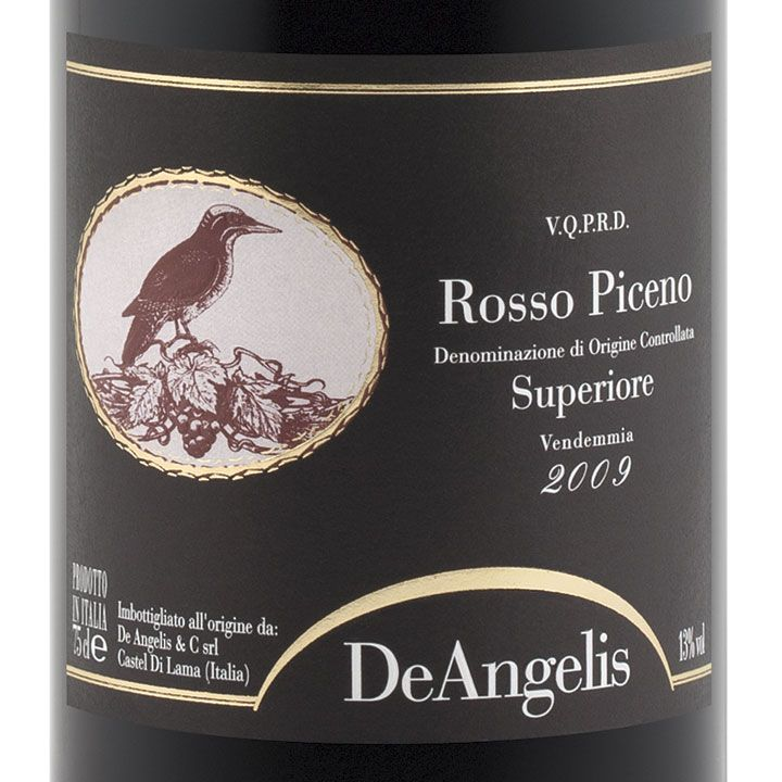 De Angelis Rosso Piceno Superiore.--MARCHE: Rosso Piceno e Rosso Piceno Superiore- #Expo2015 #WonderfulExpo2015 #ExpoMilano2015 #Wonderfooditaly #slowfood #FrancescoBruno @frbrun www.blogtematico.it/ frbrun@tiscali.it