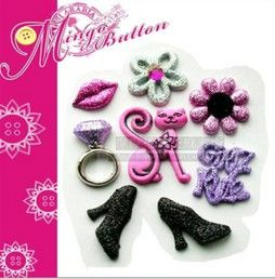 bling DIY phone deco lip and heels | chriszcoolstuff - Craft Supplies on ArtFire