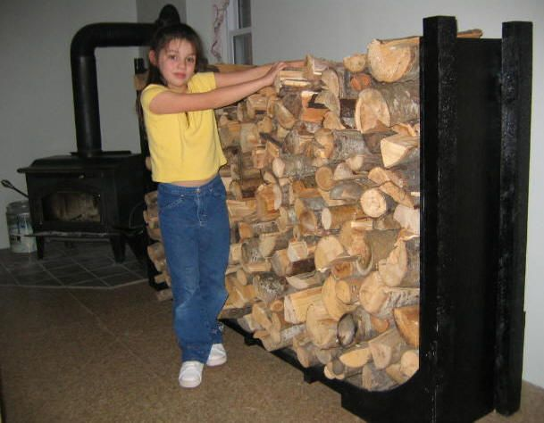 Free Firewood Rack Plans - How to Build A Firewood Rack
